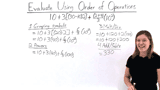 How Do You Use the Order of Operations?